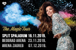 SEVERINA NAJAVLJUJE NAJSPEKTAKULARNIJU TURNEJU NA OVIM PROSTORIMA – POČINJE 'THE MAGIC TOUR'